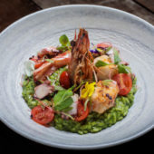 Green Herb & Prawn Risotto